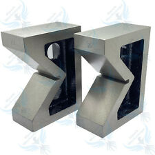 Cast Iron Vee Block Set Of 2 Pieces 4 X 1 12 X 3 V Block Without Clamp