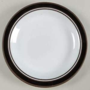 Hornsea-Pottery-CONTRAST-DINNER-PLATE-25-cms-Lancaster-Vintage-Brown-CIRCA-1977