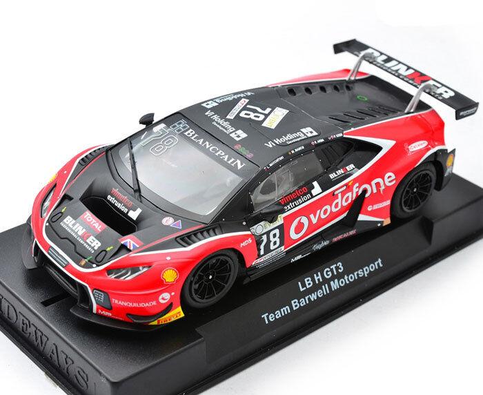 Racer Sideways LAMBORGHINI HURACAN GT3 Barwell Vodafone Slot car 1 32