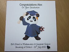 item 3 personalised handmade congratulations on your graduation card personalised handmade congratulations on your graduation card