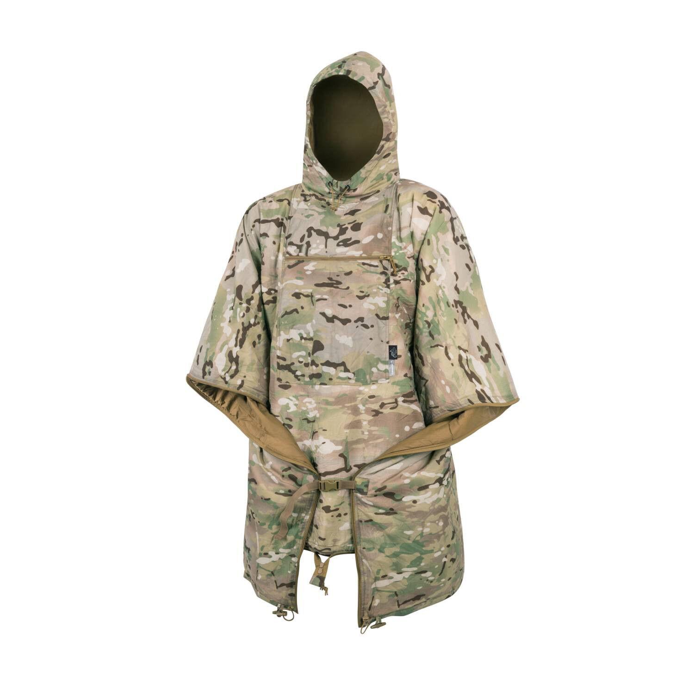 HELIKON tex poncho Swagman roll chaqueta saco de dormir Manta outdoor woobie camogrom