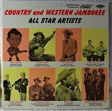 Country and Western Jamboree LP Delmore Stanley Brothers Reno & Smiley Maddox