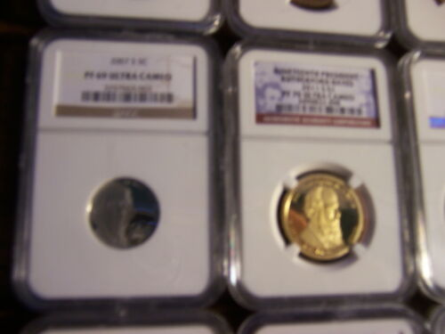 LOT OF 4-NGC GRADED COINS-MIXED BOX ESTATE BUY-1 BUY=4 SLABS RANDOM PULL#SD34