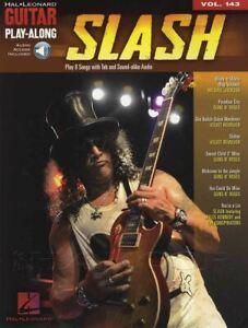Intelligent Slash Guitar Play-along Tab Music Book With Audio Télécharger Volume 143-afficher Le Titre D'origine
