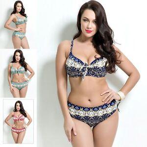 info for 76c75 59724 Details zu Übergröße Badeanzug Bikini Bademode Schwimmkleidung Plus Size  Design Charm 2019
