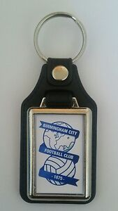 Birmingham City    leather fob medallion Keyring  Ideal gift - <span itemprop='availableAtOrFrom'>Bromley, United Kingdom</span> - Birmingham City    leather fob medallion Keyring  Ideal gift - Bromley, United Kingdom