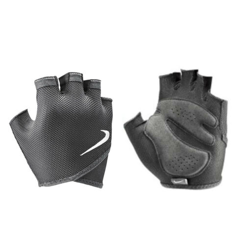 Nike Gloves Womens Essential Lightweight Training Weight Lifting Grey New