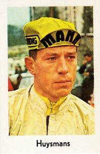 CYCLISME-carte-cycliste-JOS-HUYSMANS-equipe-MANN-GRUNDIG-1967-Format-9-sur-6-cm