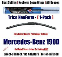 Super Premium Neoform Wiper Blade 1-pack Fits 1986-89 Mercedes-benz 190d 16240