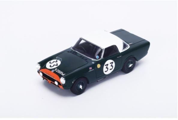 Sunbeam Alpine - P. Harper P. Procter - 24h Le Mans 1963  33 - Spark