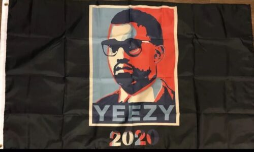 Kanye West 2020 3x5 Feet Flag For President Vote Campaign