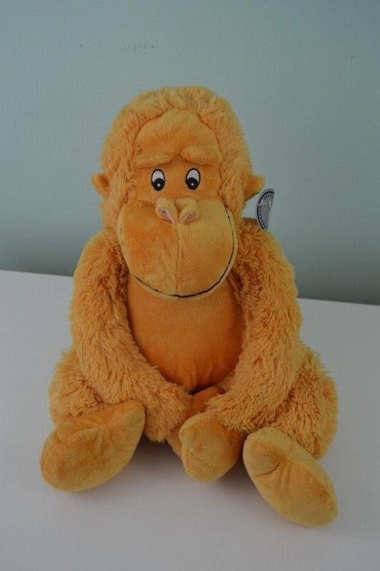 Carousel Softoys 24K Series Monkey Plush Stuffed Animal 12  Tall w Tags