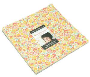 Moda-Strawberry-Jam-Layer-Cake-Precut-10-034-Fabric-Squares-29060LC-B13