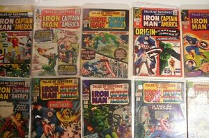 Captain-America-Tales-of-Suspense-250-comic-collection-lot-Silver-Age-Avengers