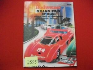 1984-GRAND-PRIX-OF-MIAMI-FOR-THE-CAMEL-GT-CHAMPIONSHIP-OFFICIAL-RACE-PROGRAM