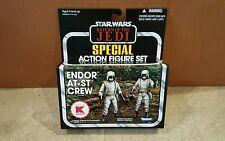 Star Wars K-Mart Vintage AT-ST CREW Battle Pack Imperial Driver & Gunner Lot