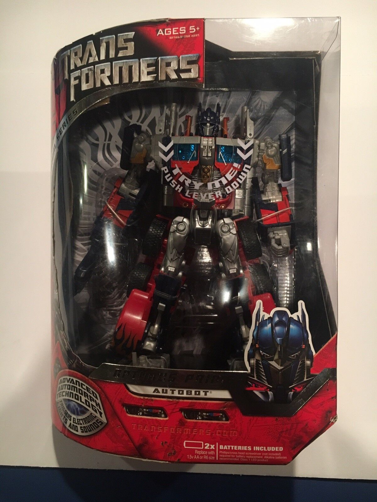 2007 TRANSFORMERS MOVIE OPTIMUS PRIME LEADER-Premium Series-Menthe en Boîte Scellée