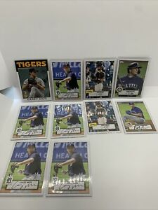 2021 Topps Series 1 Joey Bart RC Rookie Card Giants Mize Tigers Mariners MLB Lot