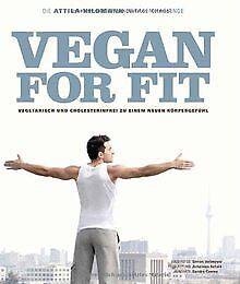Vegan-for-Fit-Die-Attila-Hildmann-30-Tage-Challenge-Di-Buch-Zustand-gut