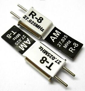 27mhz-Am-Transmetteur-et-Ondes-Rc-Cristal-Ensemble-27-Mhz-27-025-Tx-amp-Rx-Noir-Ch