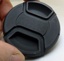 62mm Front lens cap cover snap on type plastic black  9220006