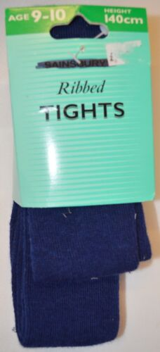 1 Pair of Older Girls Thick Knitted Winter Tights Age 9-10 10-11 11-14 Year A108
