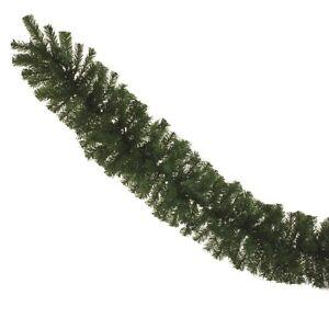 180-cm-Vert-Artificiel-Sapin-Guirlande-De-Noel-6ft-escalier-Cheminee-Dessus