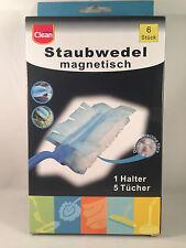 15 x Staubfangtücher + 3 x Halter Staubmagnet Staubwedel magnetisch