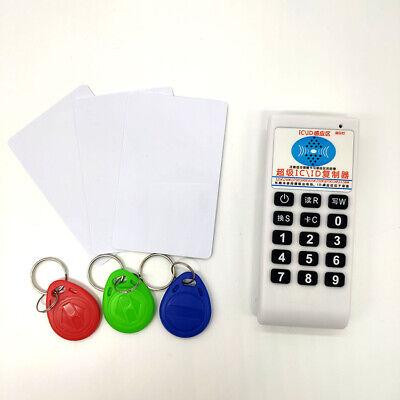 6x Keys /& Cards 125Khz 13.56MHZ RFID Tag Copier Duplicator Cloner Reader Writer