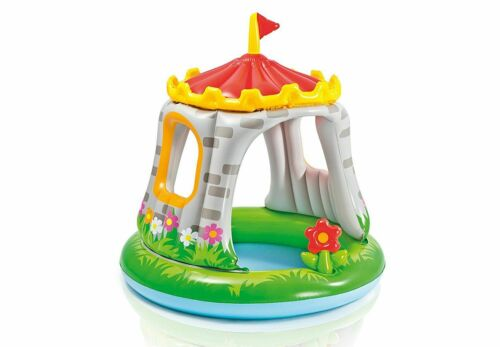 Gonfiabile con parasole Per bambini PISCINA   Piscina Baby Castello
