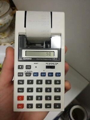 Prezzo Basso Casio Hr 1 Calcolatrice Portatile Stampante Anni '80 Design Moderno