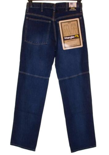 Blu Jeans Comodi Bottoni Nuovo Peak Wrangler Fly Originale Cartellino Uomo Con 460vZ
