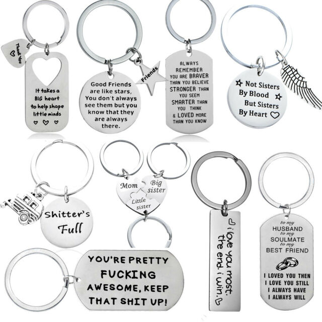 I/'m Not Always A Bitch Keyring Key Chain Sarcastic Rude Joke Funny