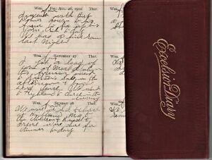 Ohio Farmer S 1910 Handwritten Diary First Edition Ebay