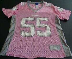 Details about JASON TAYLOR Washington REDSKINS Football REEBOK Replica Women's S Jersey Pink