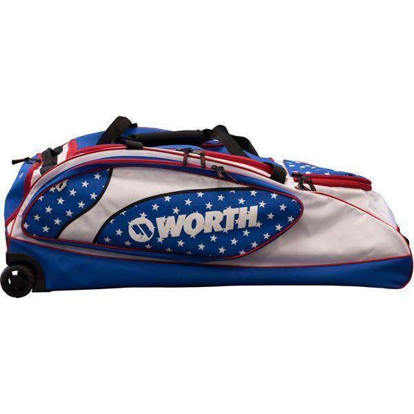 Worth Wheeled Bag WOWHBG-17 /blu, rosso/bianca /blu, WOWHBG-17 Nuovo aae74b