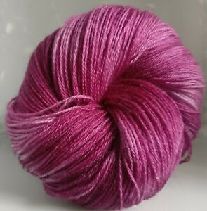 305g-OF-3-PLY-HAND-DYED-100-KNITTING-WOOL-3-SKEINS-SH-GRAPE