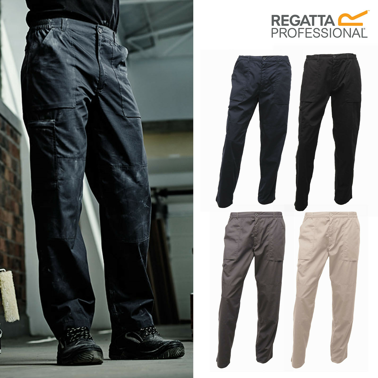 Regatta Professional New Action Trousers TRJ330