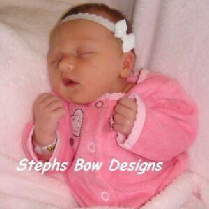 preemie baby girl Itty Bitty Maisie Bow Headband newborn newborn bow tiny bow baby shower gift girl preemie headband baby girl baby