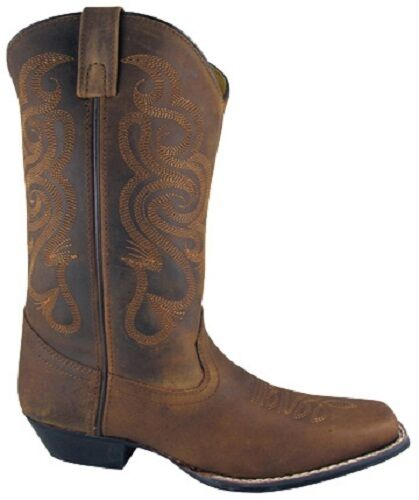 Cowboy Mountain Smoky Boots 12 Cuir Western Western Femmes Cuir Neuf Cowboy Femmes Mountain Boots 12 Smoky Neuf 1Pq4xw4O