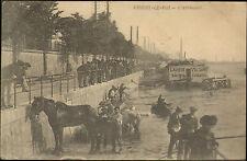 94 CHOISY-LE-ROI L'ABREUVOIR LAVOIR VOLTAIRE BAINS CHAUDS CHEVAUX 1915