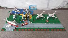Lego 6392 airport, 6368 jet x2 4642 fishing boat x2 + extra bases + lots extra