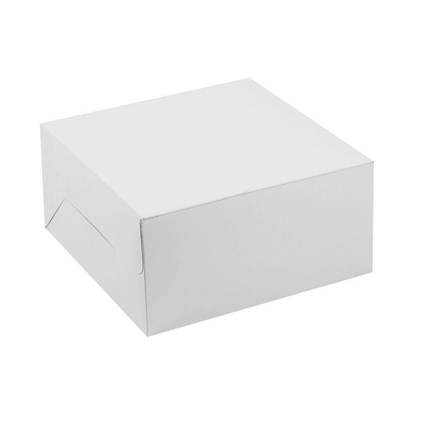 One Piece blanc Cake Box, 2.5  High
