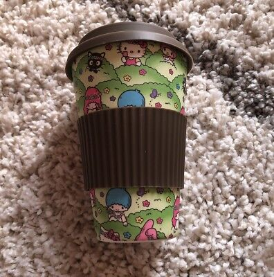 LOOT CRATE Sanrio HELLO KITTY /& FRIENDS Bamboo Travel Cup Mug EXCLUSIVE