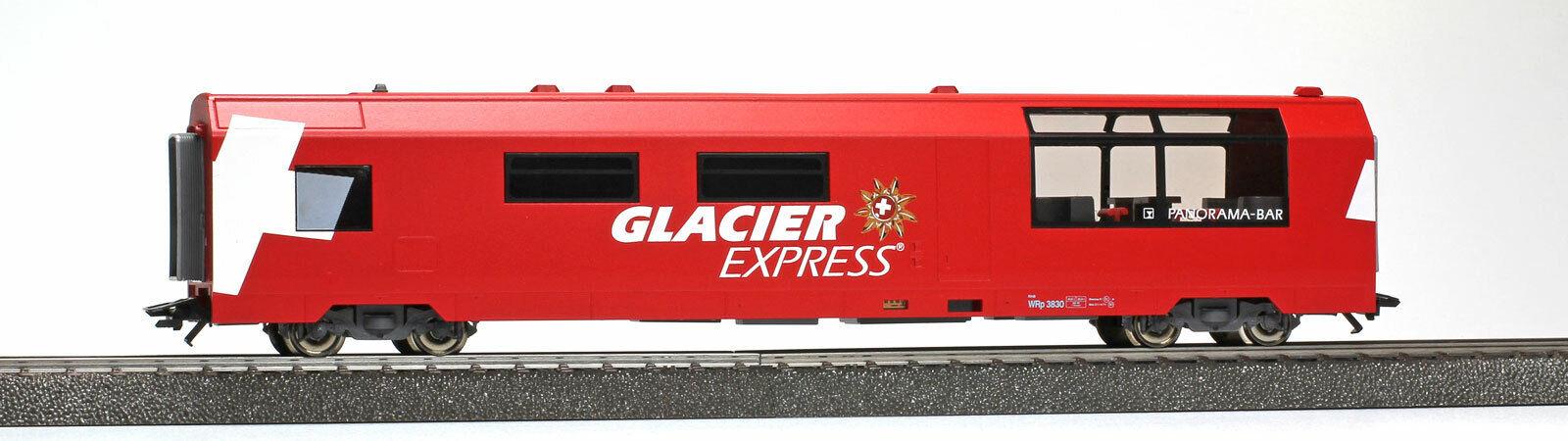 BEMO 3589132 RhB WRp 3832  Glacier-Express  Servicewagen 3L-WS Neuware  | Überlegene Qualität