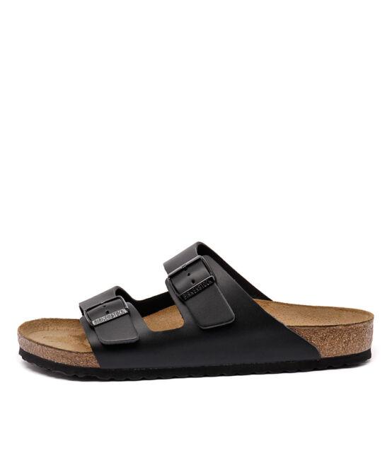 New Birkenstock Arizona Men's Black Mens Shoes Casual Sandals Sandals Flat