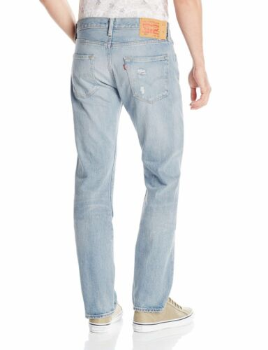 Jeans droite Original Coupe jambe David Bouton 889319808008 Fit Levis Fly X Destructed 31 501 34 5gxY8w1qnR