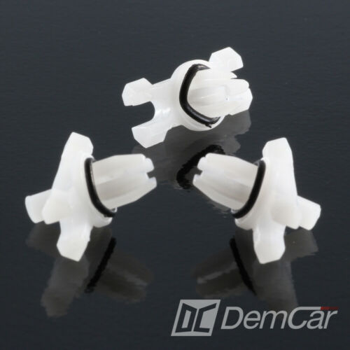 25x Zierleistenklammer Dachleisten Halterung mit Dichtung  für BMW 3er E46 E36