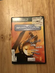 Amplitude-PlayStation-2-PS2-Complete-With-Registration-Card
