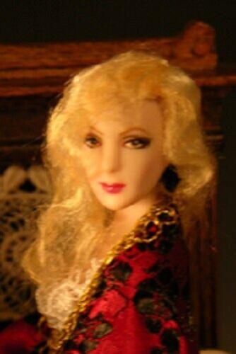1:12 scale Miniature Doll Art Tutorials ~ Patterns ~ Clothes//Hair///& more QUINN